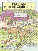 Italian Picture Word Book