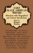 Early Black American Writers