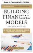 Building Financial Models: Preparing to Build a Full Model