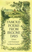 Famous Poems from Bygone Days