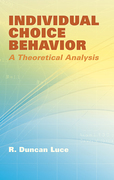 Individual Choice Behavior: A Theoretical Analysis