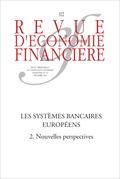 Les systèmes bancaires européens (2) Nouvelles perspectives