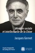 Histoire sociale et intellectuelle de la Chine