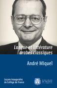 Langue et littérature arabes classiques