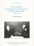 Les relations économiques et financières franco-allemandes, 1932-1939