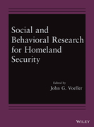 Social and Behavioral Research for Homeland Security