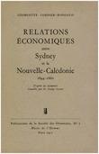 Relations économiques entre Sydney et la Nouvelle-Calédonie, 1844-1860