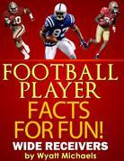 Football Player Facts for Fun! Wide Receivers