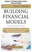 Building Financial Models: The Model Building Toolbox: F Keys and Ranges
