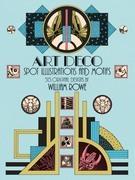 Art Deco Spot Illustrations and Motifs: 513 Original Designs