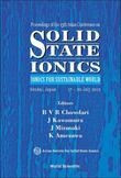 SOLID STATE IONICS: IONICS FOR SUSTAINABLE WORLD - PROCEEDINGS OF THE 13TH ASIAN CONFERENCE: Ionics for Sustainable World