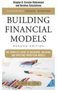 Building Financial Models: Circular References and Iterative Calculations