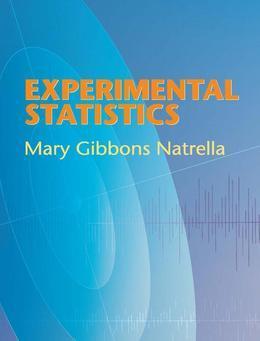 Experimental Statistics