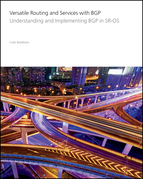 Versatile Routing and Services with BGP: Understanding and Implementing BGP in SR-OS