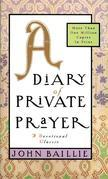 A Diary of Private Prayer
