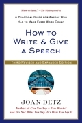 How to Write & Give a Speech