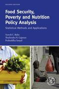 Food Security: Statistical Methods and Applications