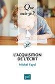 L'acquisition de l'écrit