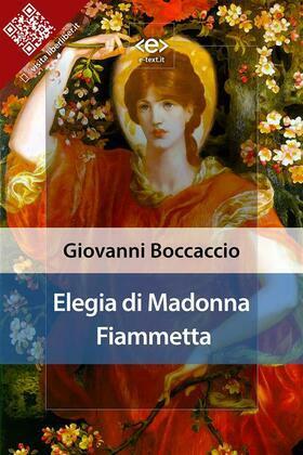 Elegia di Madonna Fiammetta