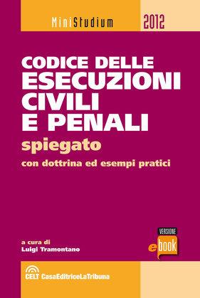 Codice delle esecuzioni civili e penali spiegato