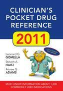 Clinician's Pocket Drug Reference, 2011