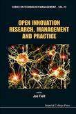 Open Innovation Research, Management and Practice