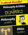 Philosophy & Ethics For Dummies 2 eBook Bundle: Philosophy For Dummies & Ethics For Dummies