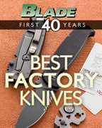 Blade's Best Factory Knives: The Best Factory Knives of Blade's First 40 Years
