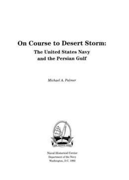 On Course to Desert Storm