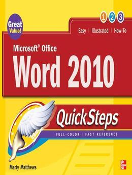 Microsoft Office Word 2010 QuickSteps
