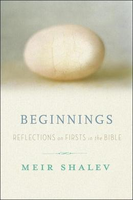Beginnings: Reflections on the Bible's Intriguing Firsts