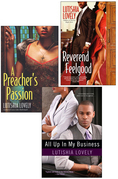 Lutishia Lovely: All Up In My Business Bundle with A Preacher's Passion & Revere nd Feelgood