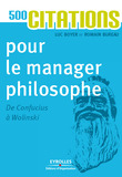 500 citations pour le manager philosophe