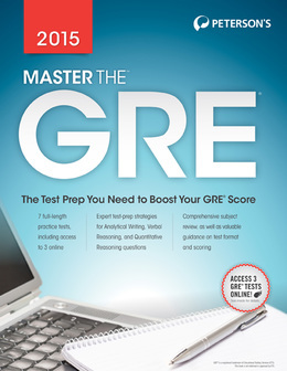 Master the GRE 2015: Part III of V