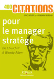 400 citations pour le manager stratège