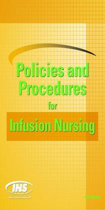 Policies and Procedures for Infusion Nursing (4th Edition)