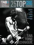 25 Top Post-Grunge Songs Guitar Songbook: Tab. Tone. Technique.