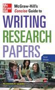McGraw-Hill's Concise Guide to Writing Research Papers