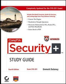 Comptia Security+study Guide: Exam Sy0-201