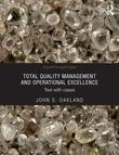 Total Quality Management: Text with Cases 4e: Text with Cases