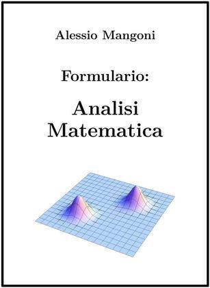 Formulario di analisi matematica