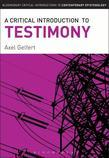 A Critical Introduction to Testimony