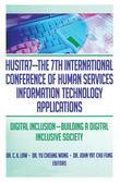 HUSITA7-THE 7TH INTERNATIONAL CONFE: Digital Inclusion-Building A Digital Inclusive Society