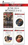 Harlequin Presents June 2014 - Bundle 2 of 2: Playboy's Lesson\The Man She Can't Forget\What the Greek Can't Resist\An Heir to Bind Them