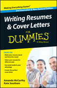 Writing Resumes and Cover Letters For Dummies