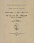Chypre sous les Lusignans: documents chypriotes des archives du Vatican (XIVe et XVe siècles)