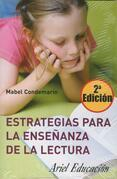 Estrategias para la enseñanza de la lectura