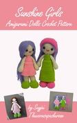 Sunshine Girls Amigurumi Dolls Crochet Pattern