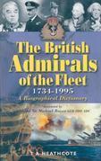 British Admirals of the Fleet: 1734-1995