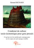 Condensé de culture socio-économique pour gens pressés